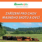 Zařízení pro chov masného skotu a ovcí 2016