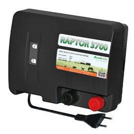 Raptor 3700 - další dravec v rodině zdrojů Kamír pro elektrické ohradníky
