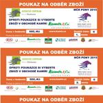 Jak uplatnit kupón pro medailisty z MČR PONY 2015