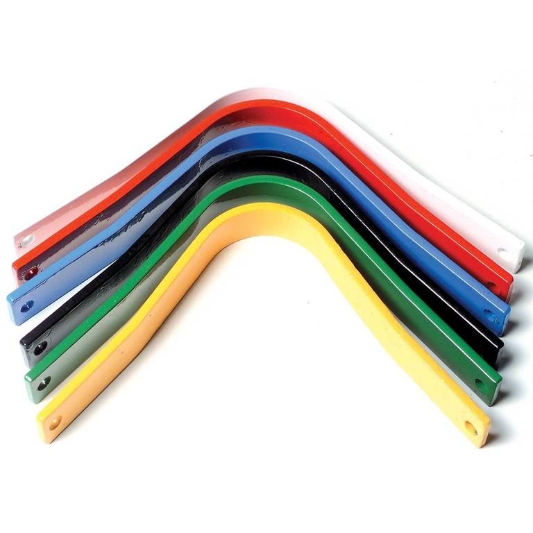 Velikost komor sedla podle barvy
