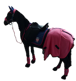 Podívejte se na naši modro-růžovou kolekci Covalliero pro koně a jezdce