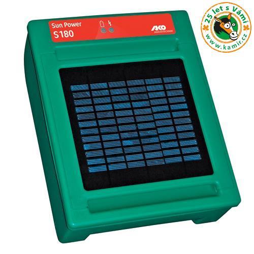 solární elektrický ohradník