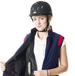 Airbagové vesty a saka pro jezdce Helite