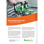 Robotické dojení GEA