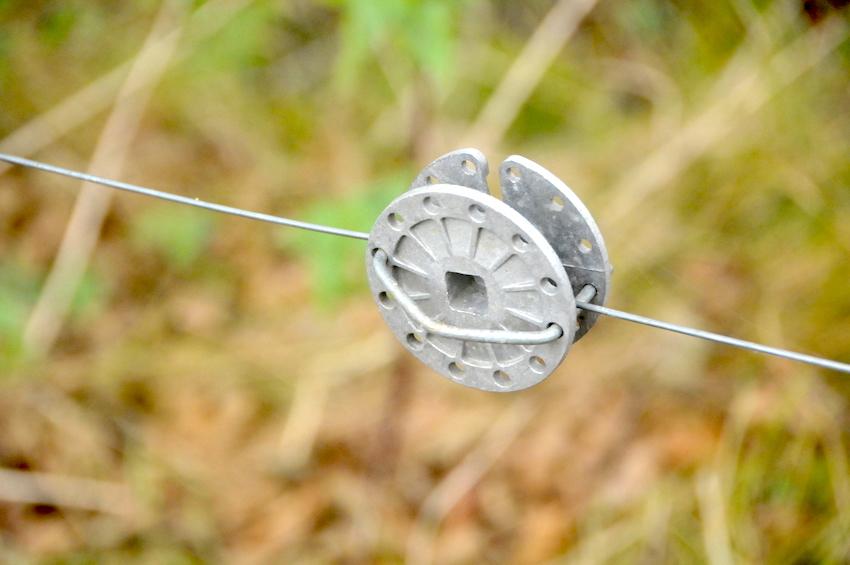bubínkový napínák je vhodný především pro obyčejné dráty - např. 2,2 mm