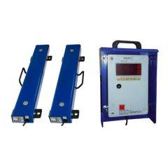 Ližinová váha 2 x 800 mm, do 1500 kg s indikátorem FORMATIC7D