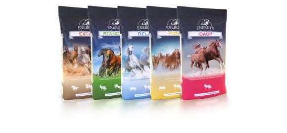 Krmivo pro koně Energys řada Base