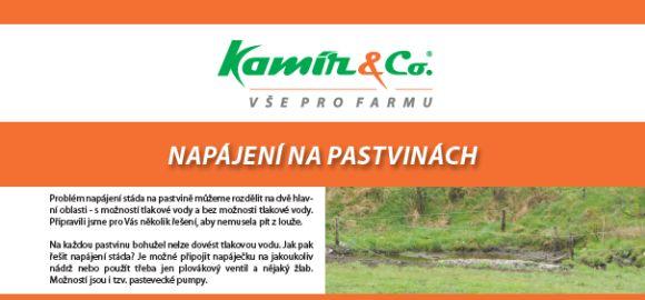 Katalog Napájení na pastvinách