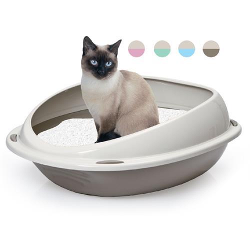Kočičí toaleta se zvýšeným okrajem