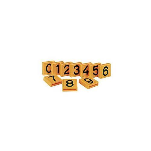 Číslo na opasek, výška znaku 32 mm - číslice 0-9 - 3