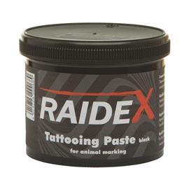 Tetovací pasta černá 600 g, Raidex