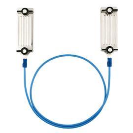Propojovací kabel na pásku elektrických ohradníků, 60 cm, nerez