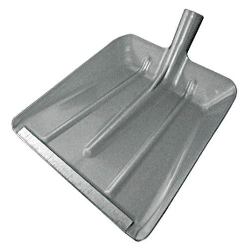 Lopata plastová s kovovou hranou