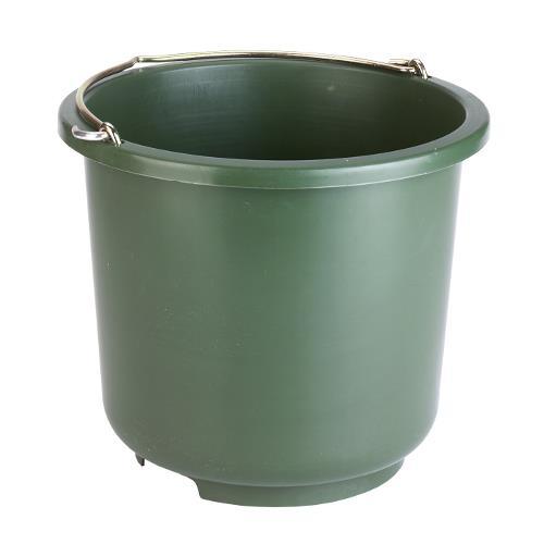 Plastový kbelík pro krmení zvířat 12 l