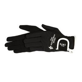 Jezdecké rukavice PFIFF, černé - XL