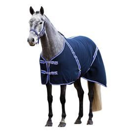 Odpocovací deka Kerbl, tmavě modrá - vel. 125 cm