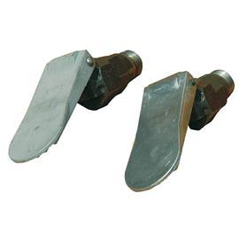 Napájecí ventil pro napáječky komplet, mosazný kolík, hliníkový jazyk
