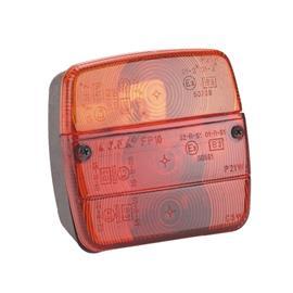 Lampa koncová 3 oddělení, konc-brzda-směr - s SPZ