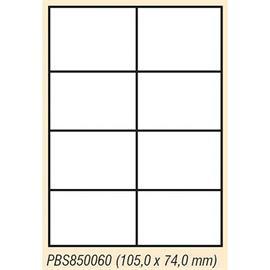 Etiketa univerzální  A4, 8 ks 105 x 74, 100 listů