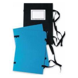 Desky spisové A4, s tkanicí, jednostranné, bez štítku, barev. assort