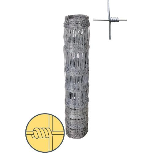 Uzlové pletivo zinkované s okem 15 cm, výška 120 cm - 50 m