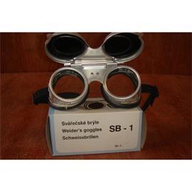 Brýle svářečské SB 1 - odklopné - hliník