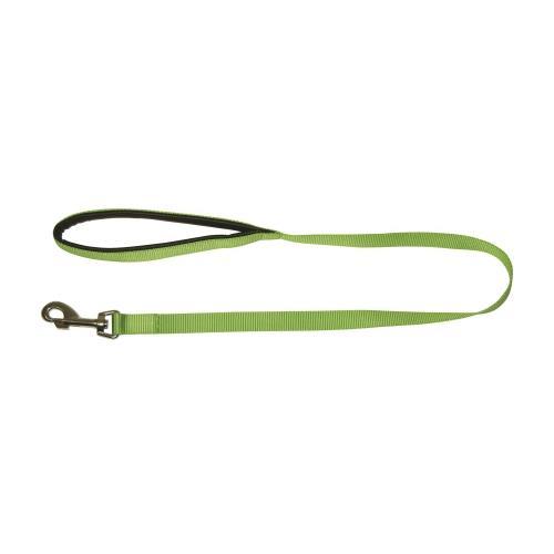 Vodítko pro psy s poutkem, zelené, 1 m