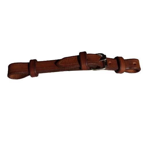 Westernový kožený podbradní řemínek