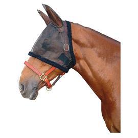 Maska proti hmyzu s ušima Harrys Horse, síťová, černá - XL