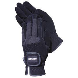 Strečové jezdecké rukavice Harrys Horse - černé, vel. L
