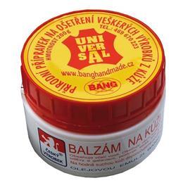 Balzám na kůži BANG se včelím voskem + houbička - 200 gr