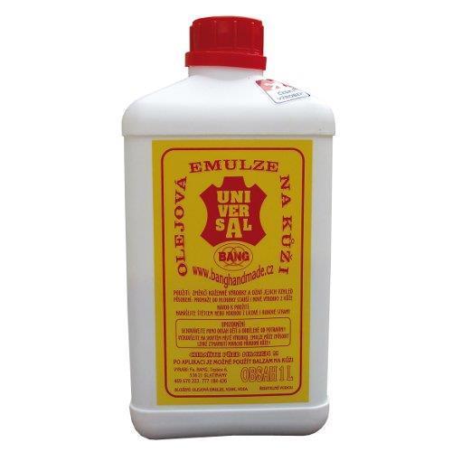 Olejová emulze na kůži s voskem BANG, 1 l