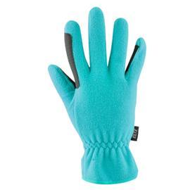 Jezdecké rukavice polar fleece, světle modré