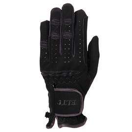 Jezdecké rukavice elastické, černé