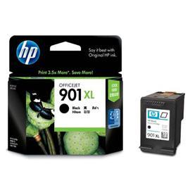 HP originální inkoustová náplň CC654AE#UUS, No.901XL, black, 700str., 14ml, HP OfficeJet J4580