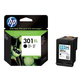 HP originální inkoustová náplň CH563EE#301, No.301XL, black, 480str., blistr, HP HP Deskjet 1000, 1050, 2050, 3000, 3050