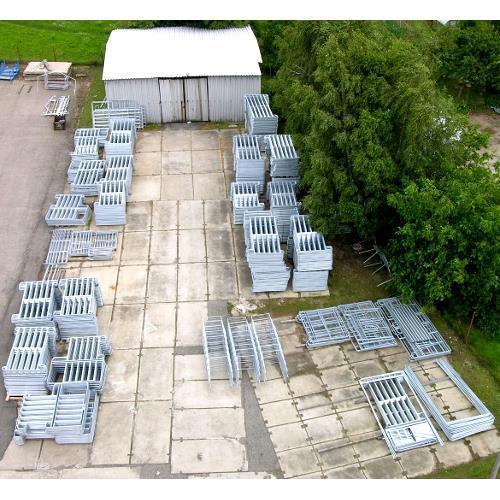 Kruhová jízdárna z ohradních panelů 2 m 22 + 1