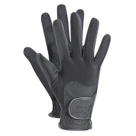 Jezdecké rukavice ELT Waldhausen Metropolitan, černé - XL