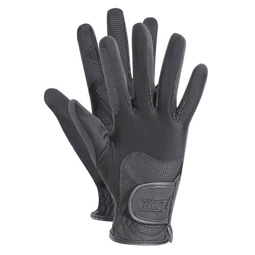 Jezdecké rukavice ELT Waldhausen Metropolitan, černé - L