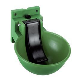 Napáječka misková ECO, plastová, zelená