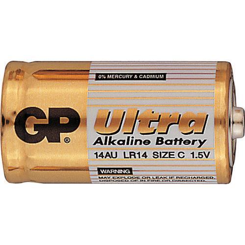 Baterie GP Ultra Alkaline C/LR14, 2ks Foto Baterie GP Ultra Alkaline C, 2ks