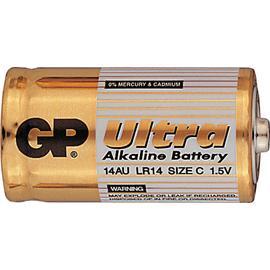 Baterie GP Ultra Alkaline C/LR14, 2ks