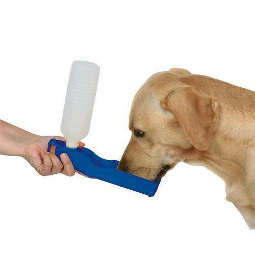 Cestovní plastová napáječka pro psy, 500 ml