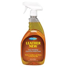 Tekuté mýdlo na čištění kůže Leather New Farnam, 473 ml