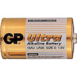 Baterie GP Ultra Alkaline D/LR20, 2ks