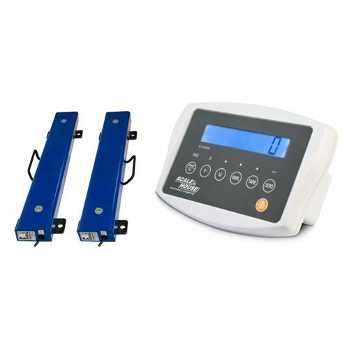 Ližinová váha 2 x 600 mm, do 1500 kg s indikátorem AFW Foto Ližinová váha 2 x 600 mm, do 1500 kg s indikátorem AFW