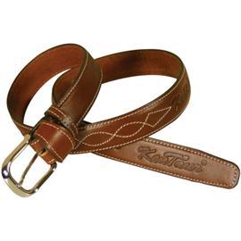 Kožený pásek Kentaur, hnědý - 80 cm