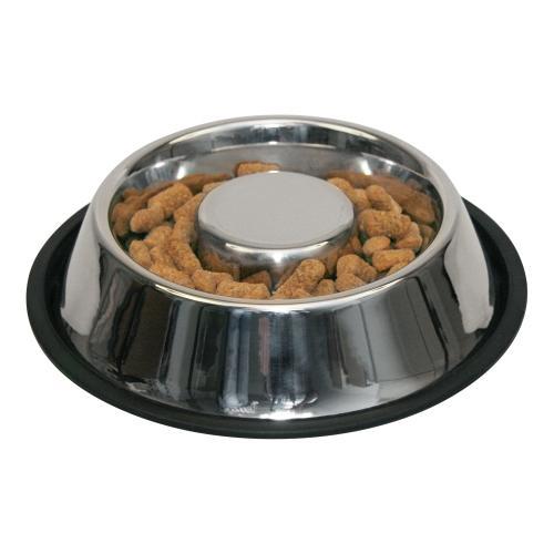 Miska nerezová s gumovou hranou, protihltací, 500 ml