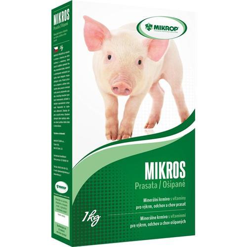 Minerální doplněk MIKROS prasata s vitamíny, 1 kg