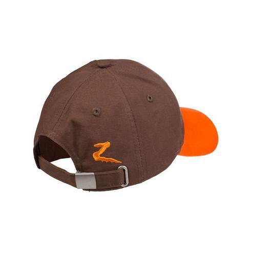 Dětská kšiltovka Horze - hnědo-oranžová Kšiltovka dětská, Horze, hnědo-oranžová